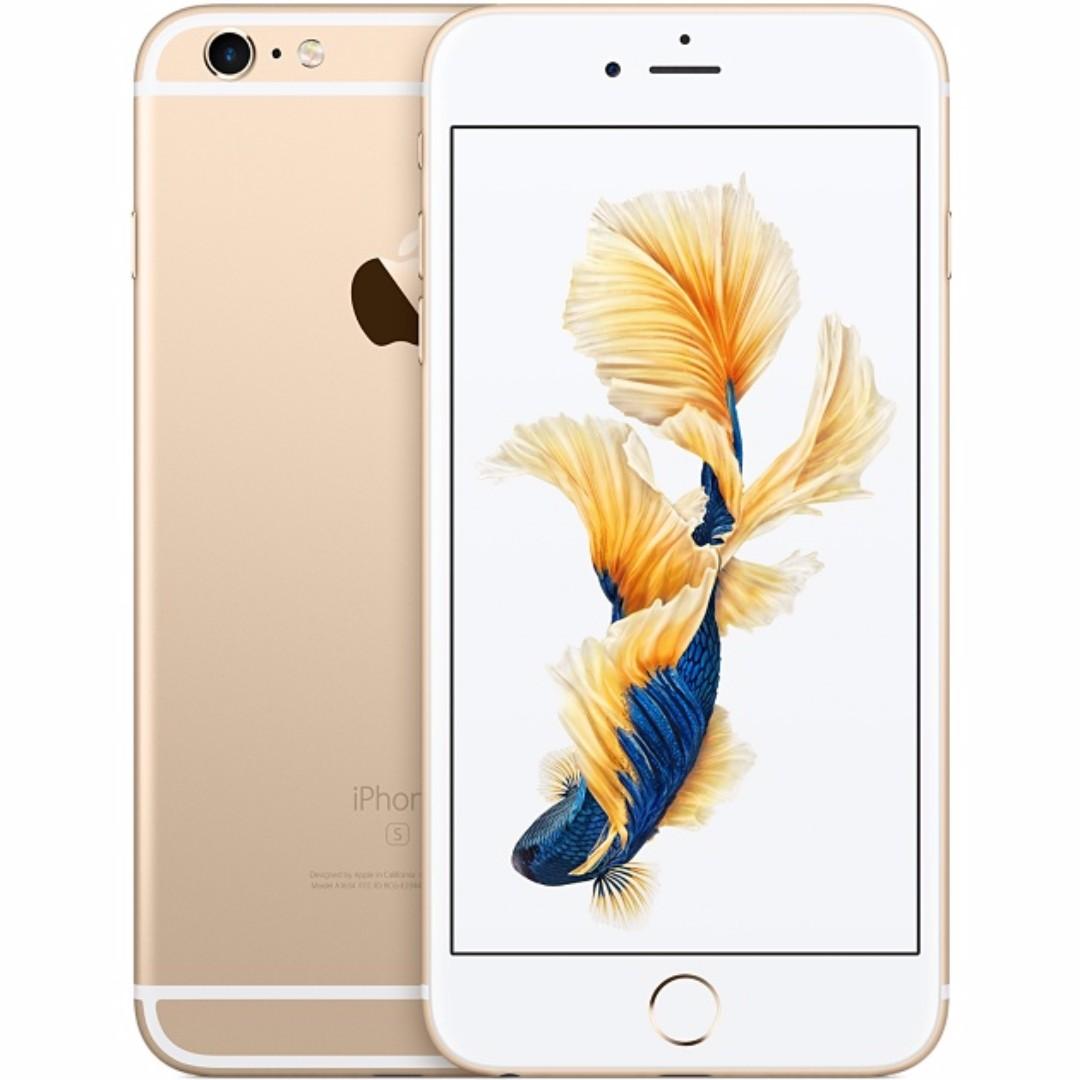 Apple IPhone 6S 16GB Gold Free Tempered Glass Elektronik Telepon