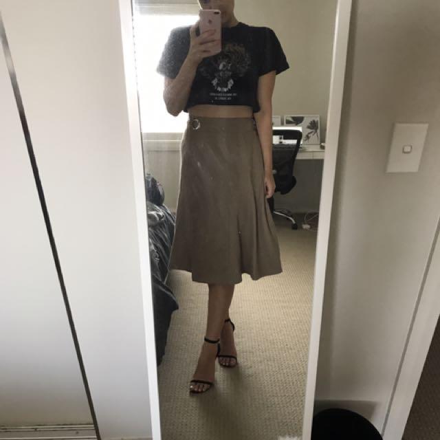 Atmos Khaki Skirt