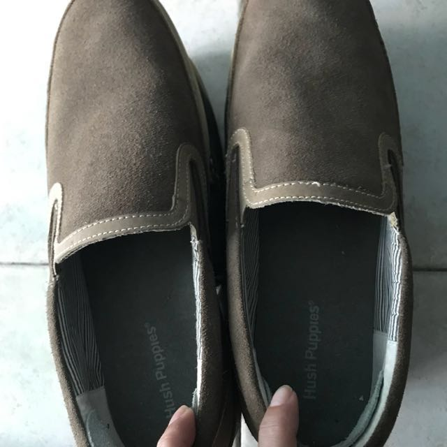 Authentic Hush puppies brown