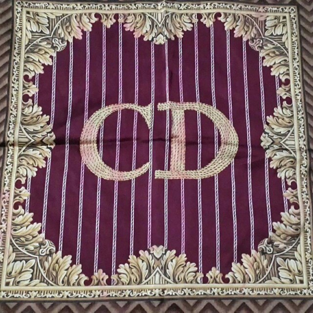 Authentic Preloved Christian Dior Silk Scarf