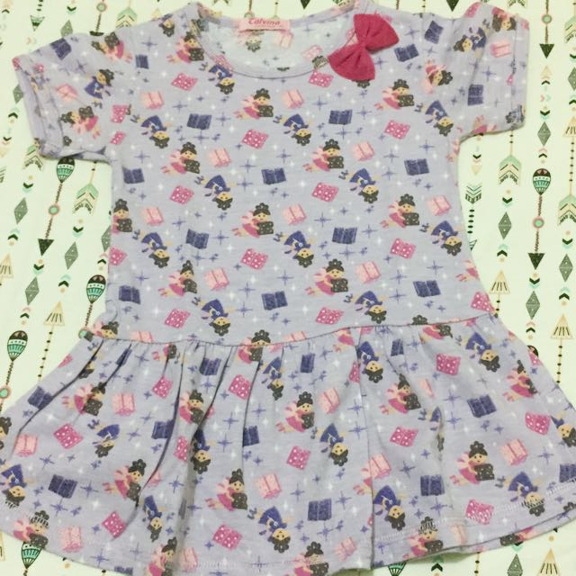 Baby Dress Purple Doll (size XL/bisa muat sampai 24m)