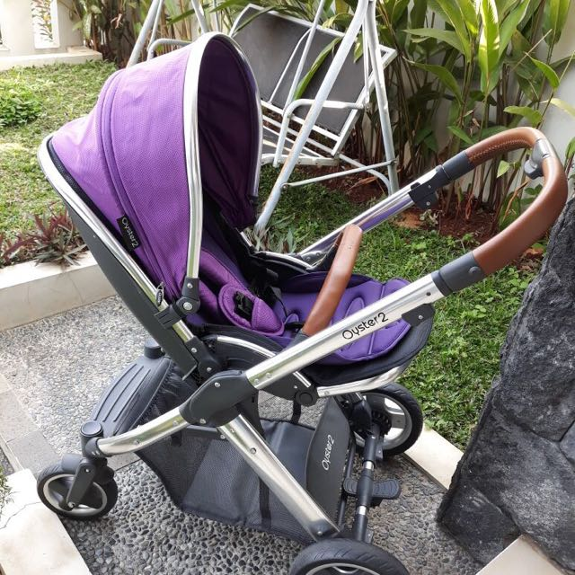 Baby Stroller Oyster 2 Purple