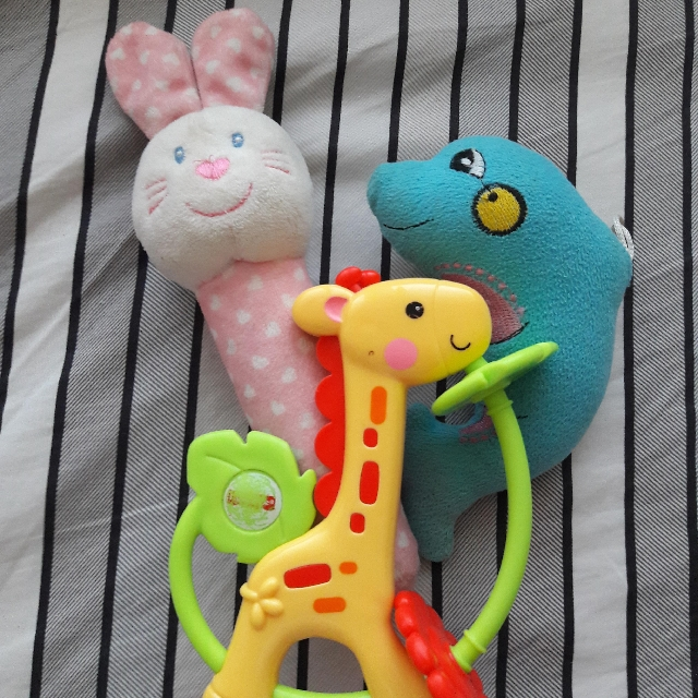 Baby Toys (all 3 items)