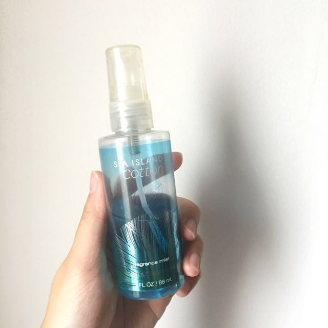 Bath and Body Works (BBW) Fragrance Mist (Sea Island Cotton)