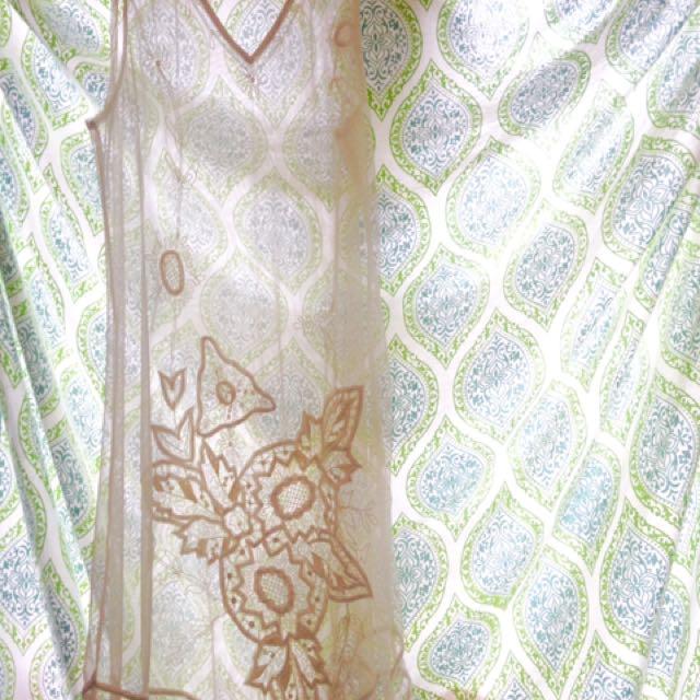 Beautiful Boho Sheer Lace Dress