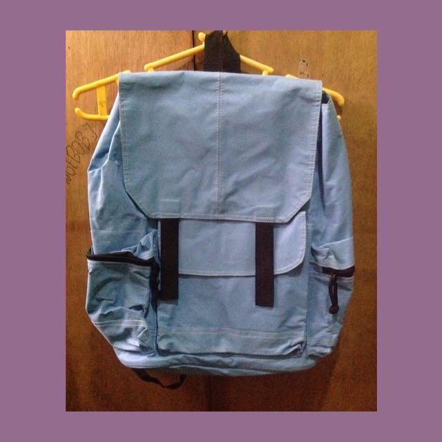 Blue Rucksack Bag