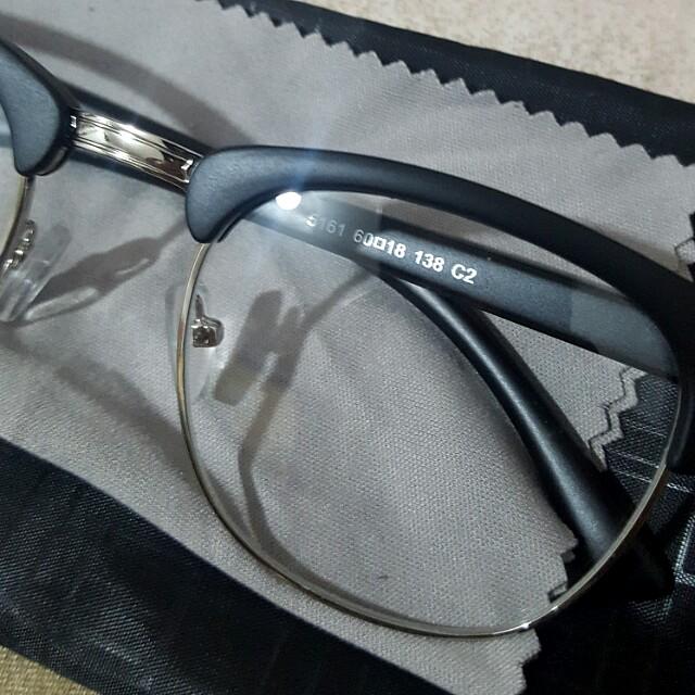 f69a98de21e32 bn matte black vintage clubmaster specs glasses clear lens with silver rim