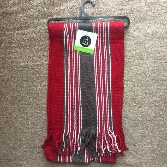 BNWT Striped scarf