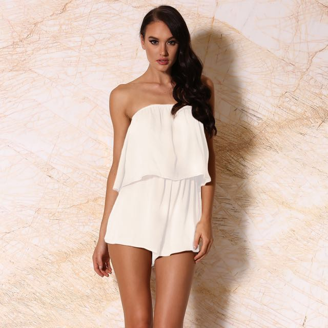 *Brand New* Meshki Playsuit