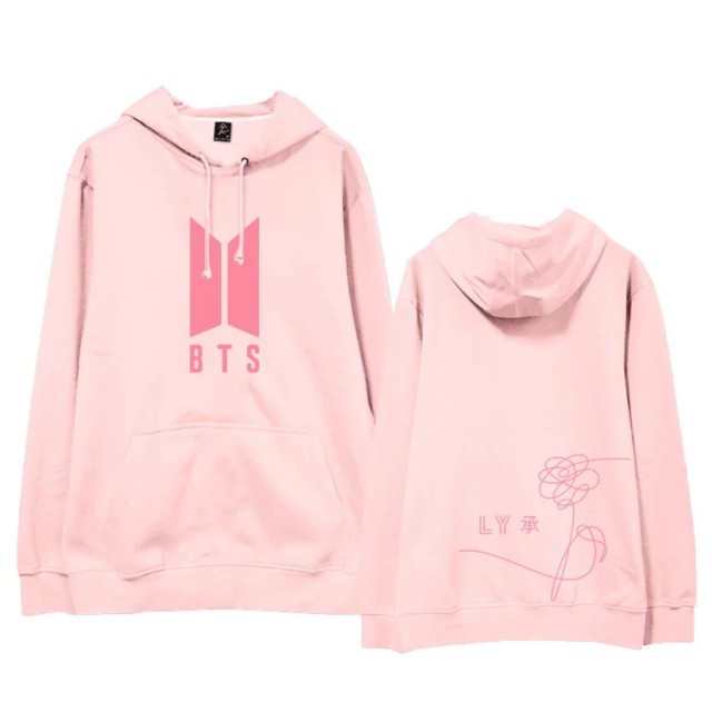 BTS Love Yourself Logo Hoodie Entertainment K-Wave on Carousell