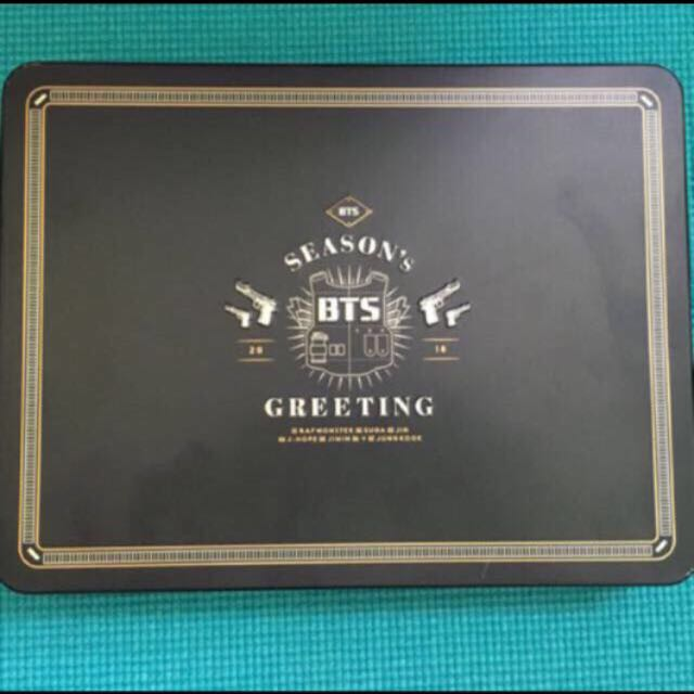 BTS Seasons Greeting 2016 KPOP