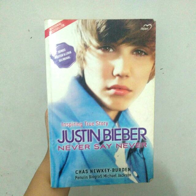 Buku Biografi Justin Bieber