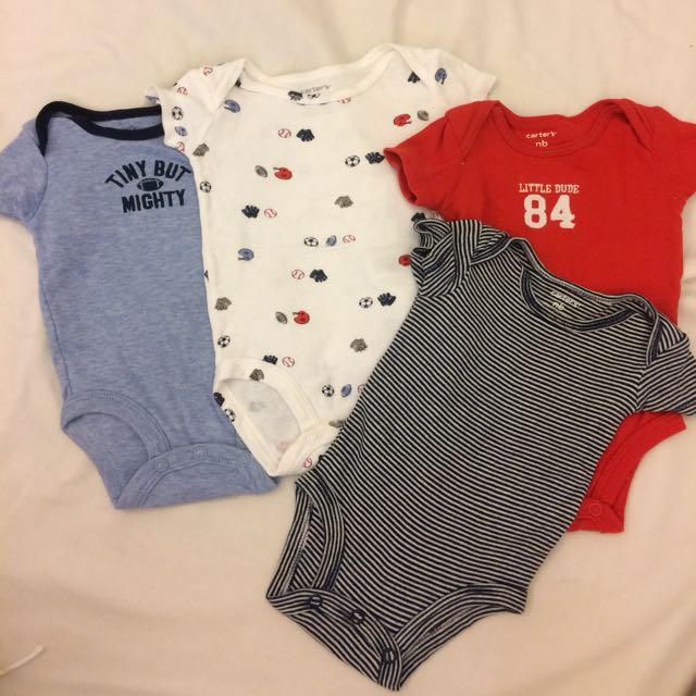 Carter's NB Romper