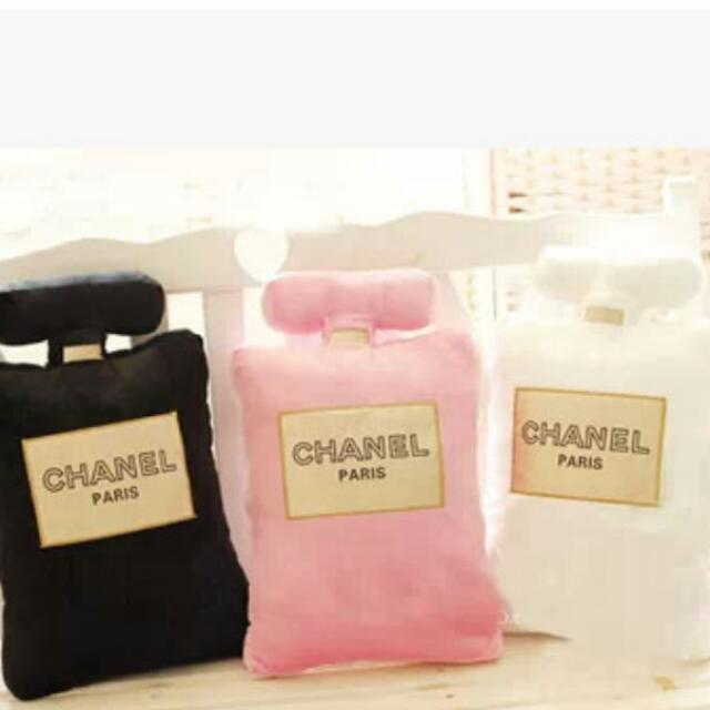 Chanel Perfume pillow