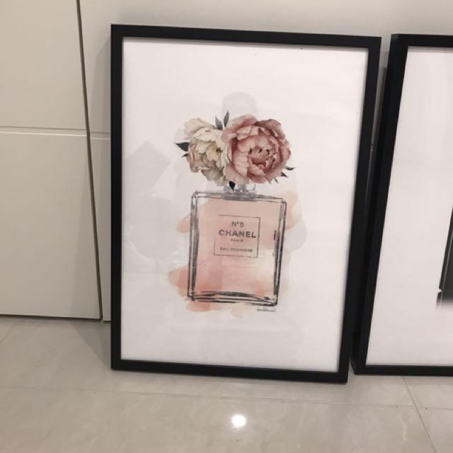 Chanel prints $60 each