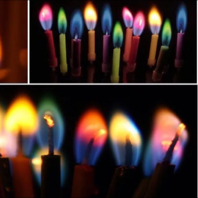 Colourflame Candles $4 -FREE POST