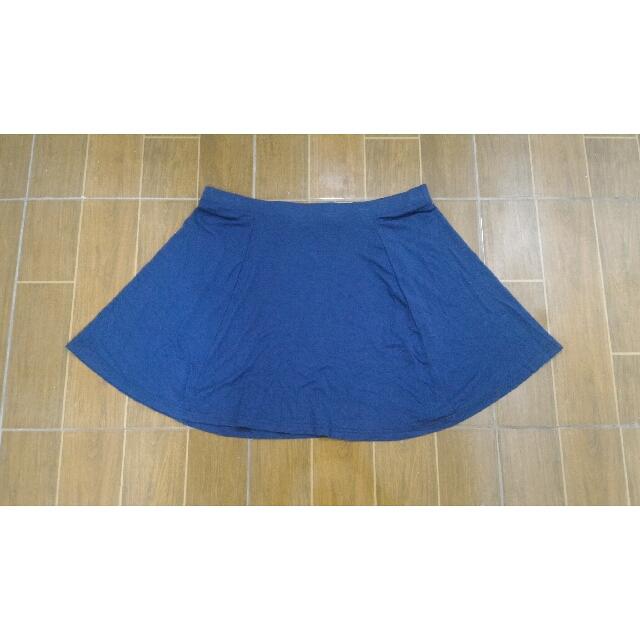 Cotton On Blue Skater Skirt