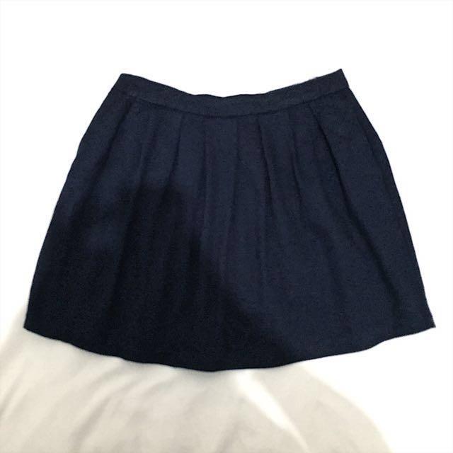 Dark blu skirt