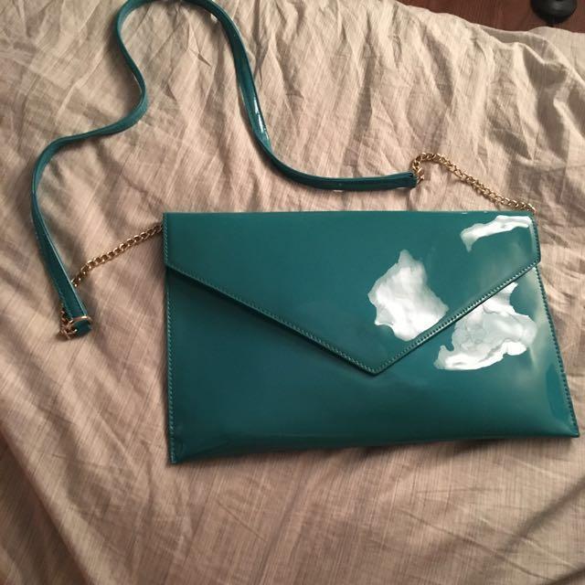 David Jones envelop bag