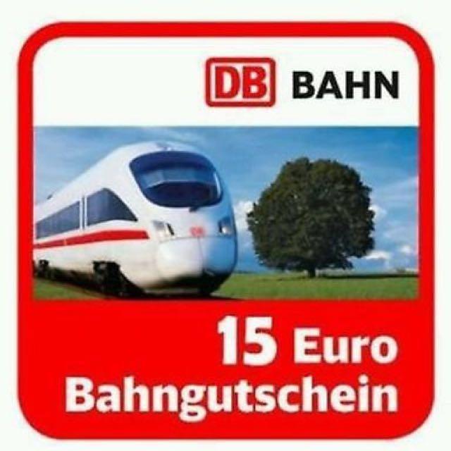 DB 德鐵 15歐折價券 ecoupon