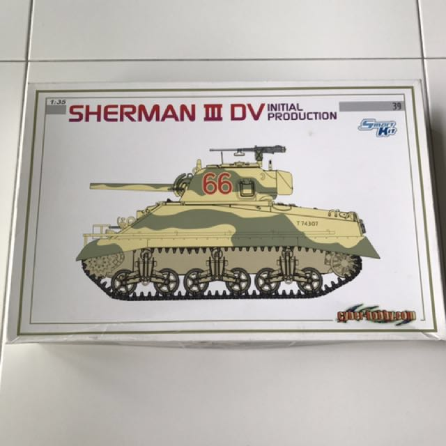 Dragon Cyber Hobby 1/35 Sherman lll DV Initial Production