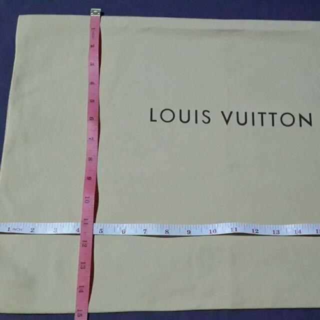 Dust bag Large- Authentic Louis Vuitton