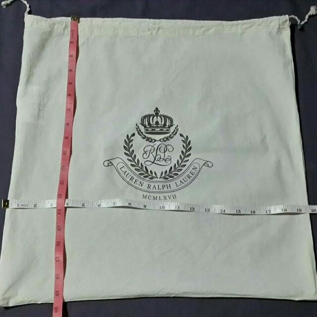 Dust Bag Large- Authentic Ralph Lauren