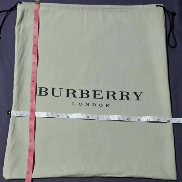 Dust Bag Large- Burberry