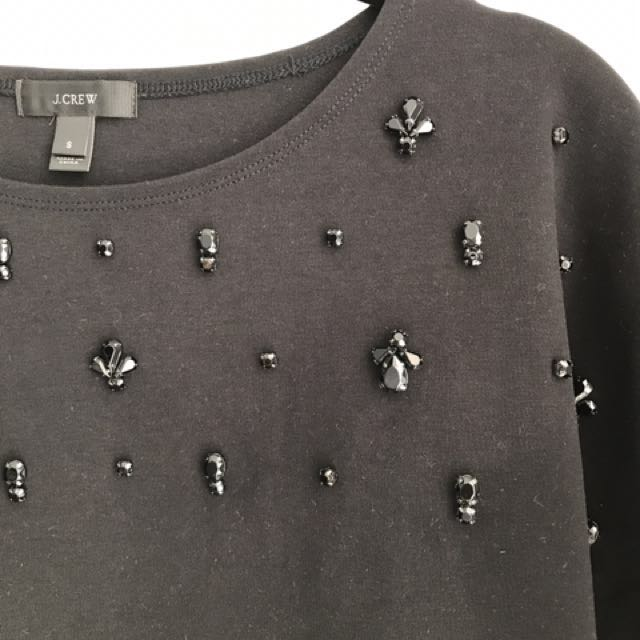 Embellished JCrew Shirt - Size S