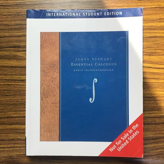 Essential Calculus 微積分 #教科書出清