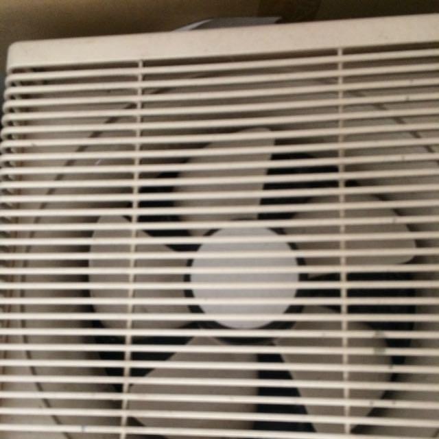 Exhaust Fan 3D Ventillator, In Out