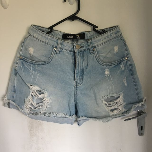 Factorie Ripped High Rise Jeans