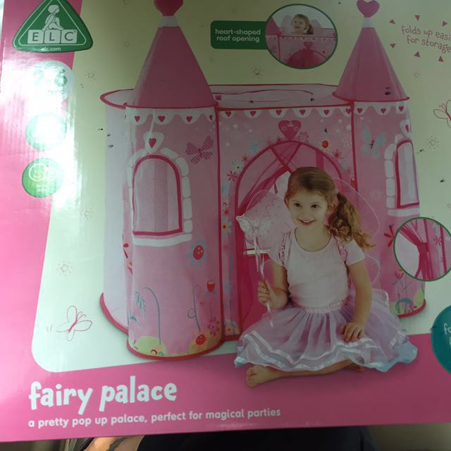 Fairy Palace Pop Up Tent