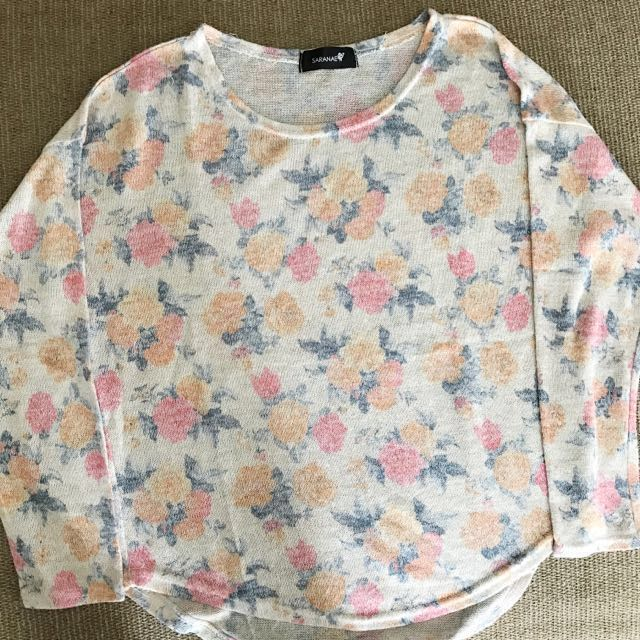 Flower Pattern Top