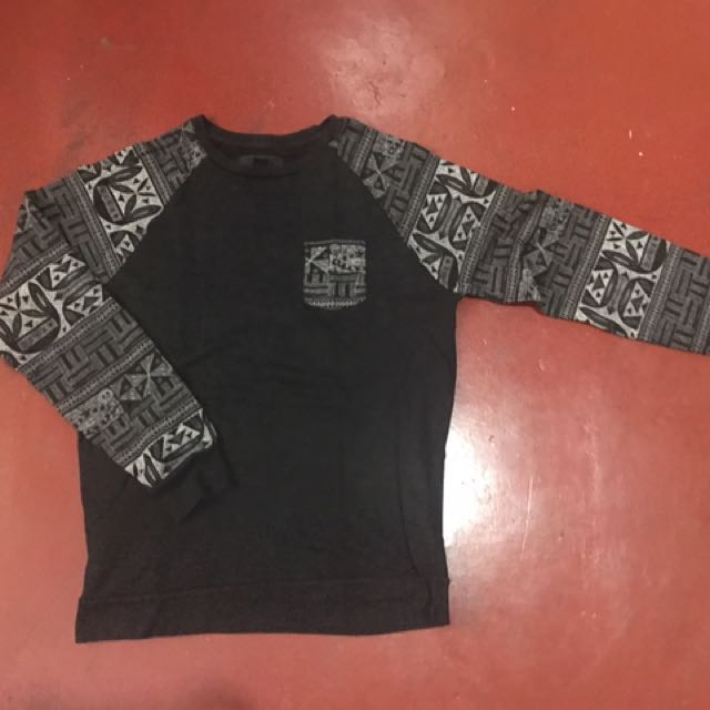 Forever 21 Aztec Sleeve Sweater