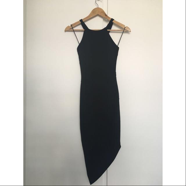 Fresh Soul Black Dress - Sz 6