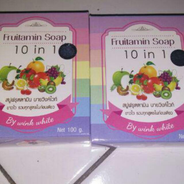 Fruitamin Soap 100Gr