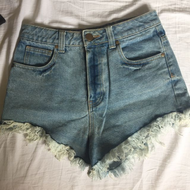 Glassons raw hem shorts