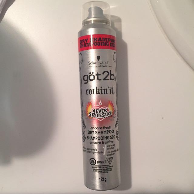 Got2b Dry Shampoo brand new