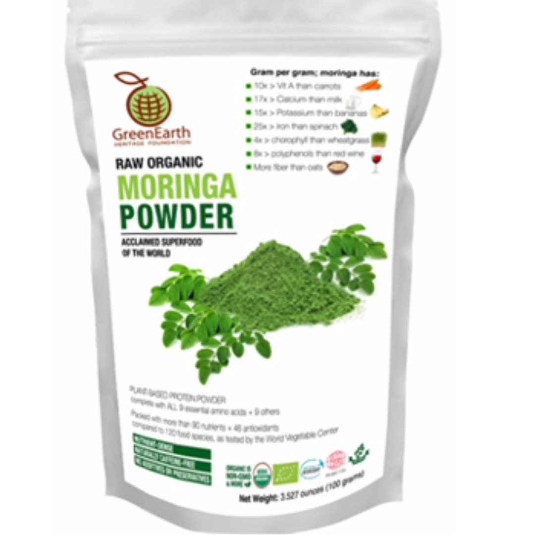 Green Earth's Moringa Powder 100g