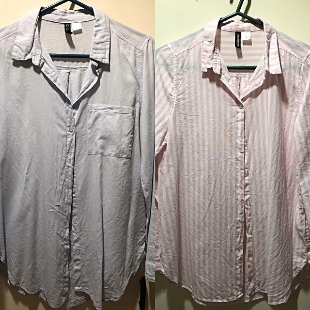 H&M Longsleeve Shirts Size 6