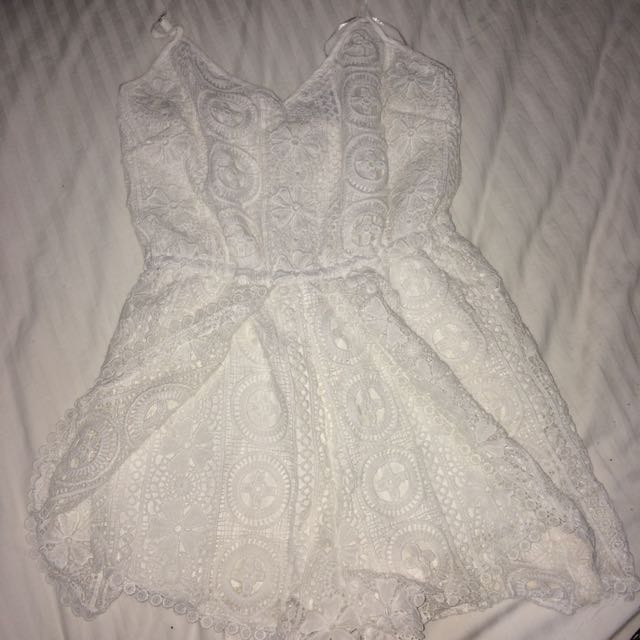 Ice lace playsuit
