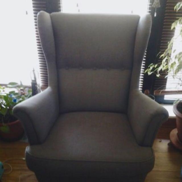 Ikea Strandmon Wing Chair Home Furniture On Carou