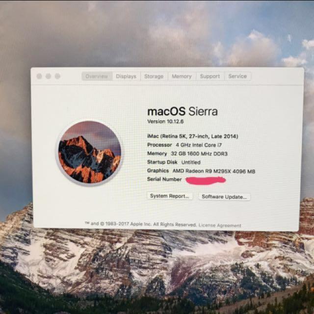 iMac 5K (Late 2014)
