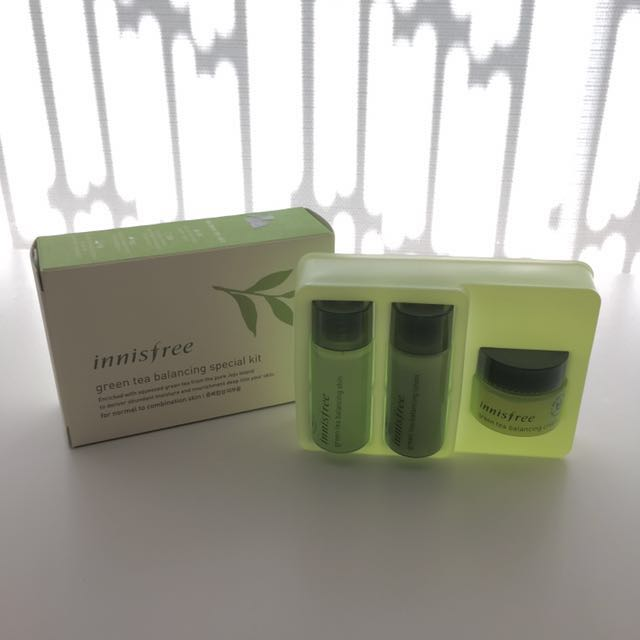 Innisfree Green Tea Sample Box