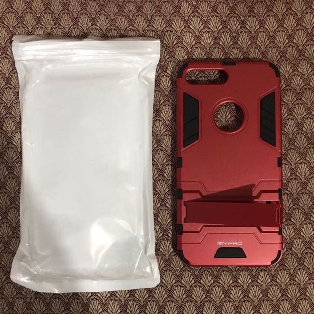 Iphone 7plus armor case with stand