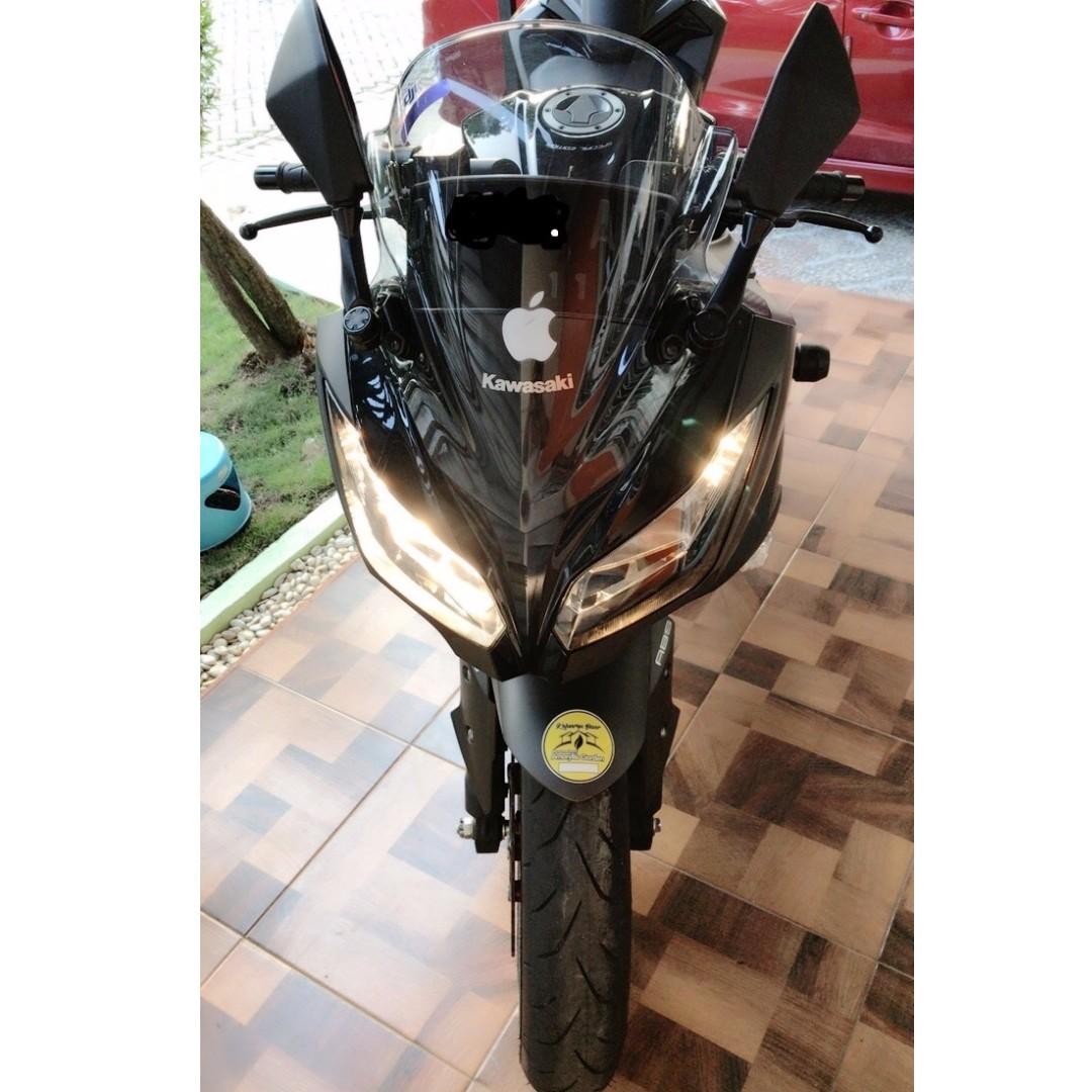 Jual Ninja 250 Fi Abs Se Ltd 2016 Motorbikes On Carousell