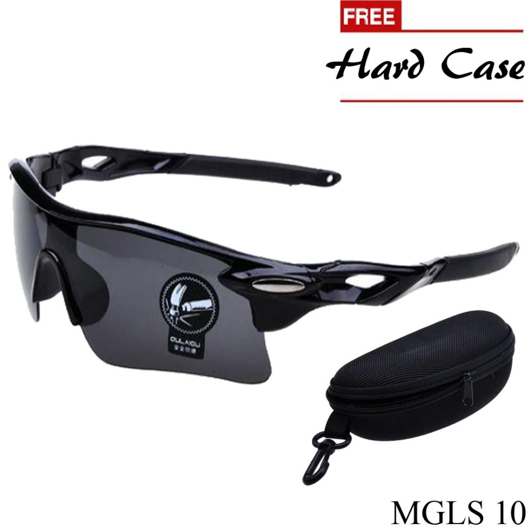 Kacamata Sport Pria Polycarbonate Hitam Mgls 10 Olshop Fashion Kaca Mata Cowo Di Carousell