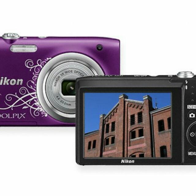 Kamera Digital / kamera pocket nikon coolpix a100