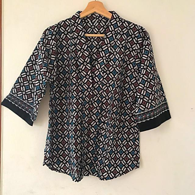 Kimono batik top